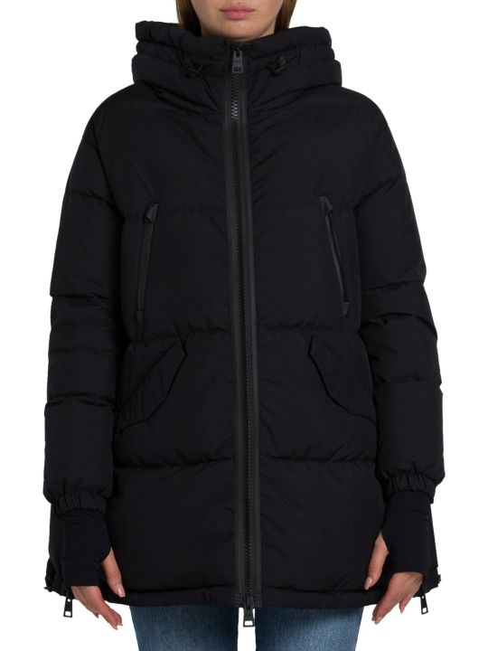 Herno Mid-length Down Jacket With Deatchable Hood