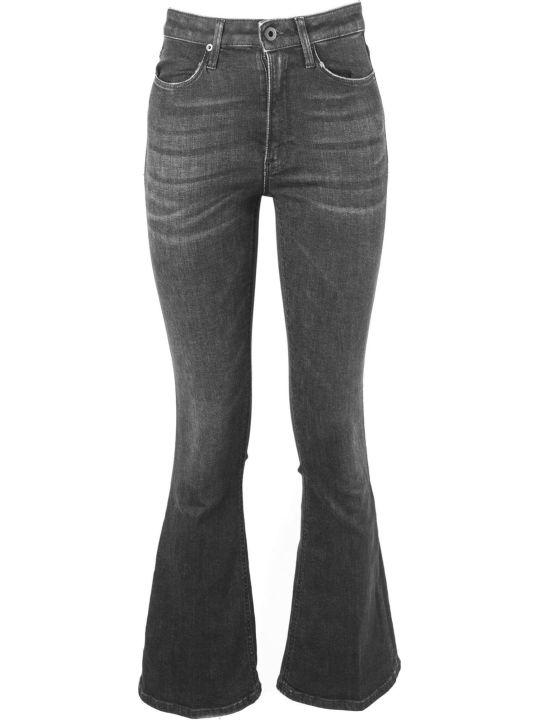 Dondup Dark Grey Cotton Jeans