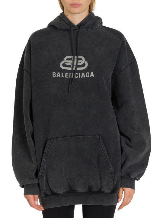 Balenciaga Bb Chain Oversized Hoodie