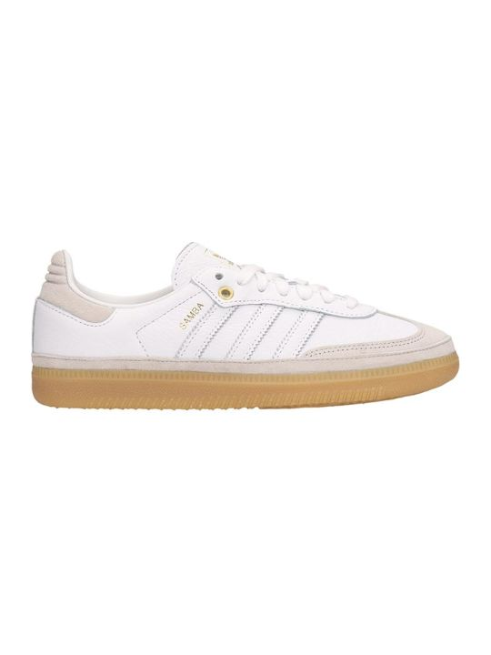 Adidas White-grey Suede And Leather Sneakers Samba Og W Relay