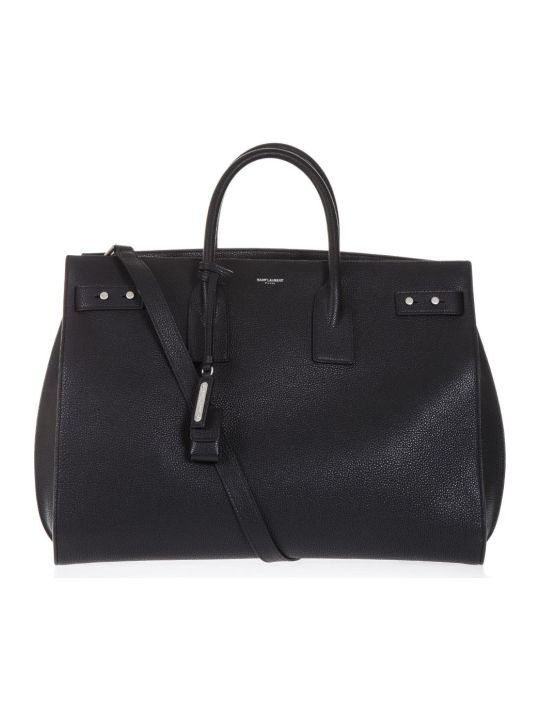 Saint Laurent Black Leather Handbag