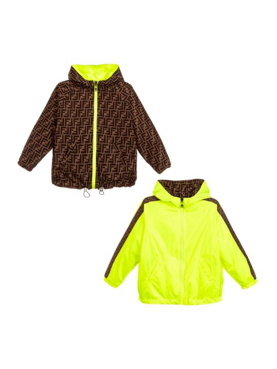 Fendi Unisex Jacket Reversible