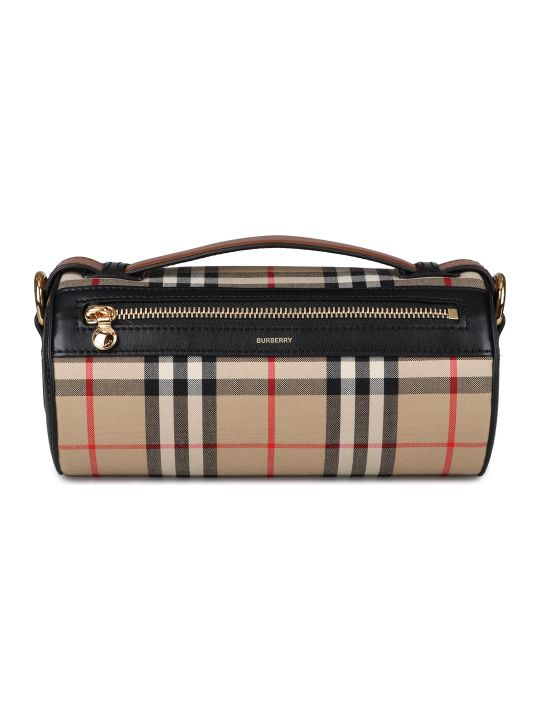 Burberry Barrel Check Crossbody Bag