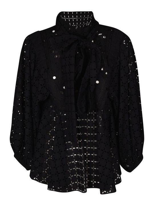 Rochas Rochas Broderie Anglaise Blouse