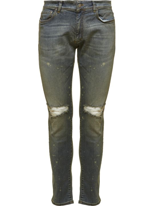 REPRESENT Distressed Jeans