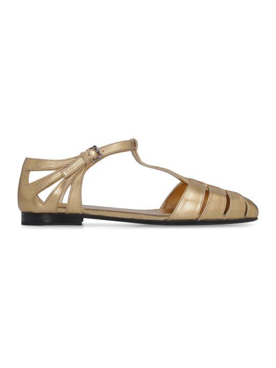 Church's Metallic Leather Sandals