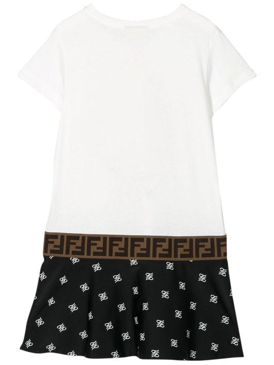 Fendi Kids Printed T-shirt Model Dress
