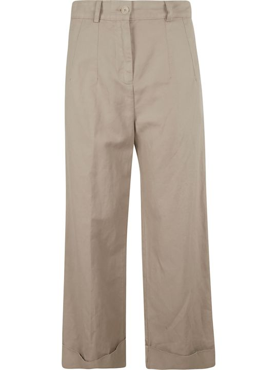 Aspesi High-waisted Trousers