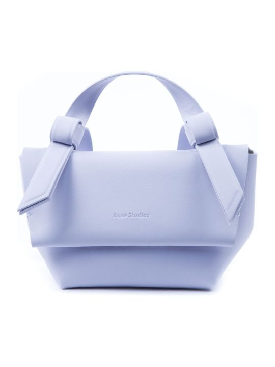 Acne Studios Pale Blu Musubi Leather Small Handbag