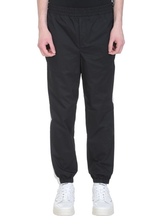 Ami Alexandre Mattiussi Black Cotton Trousers