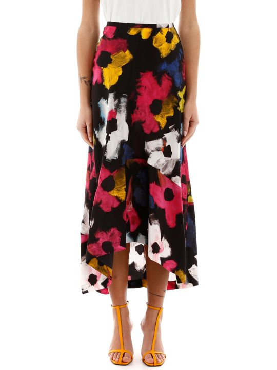 Colville Floral-printed Skirt