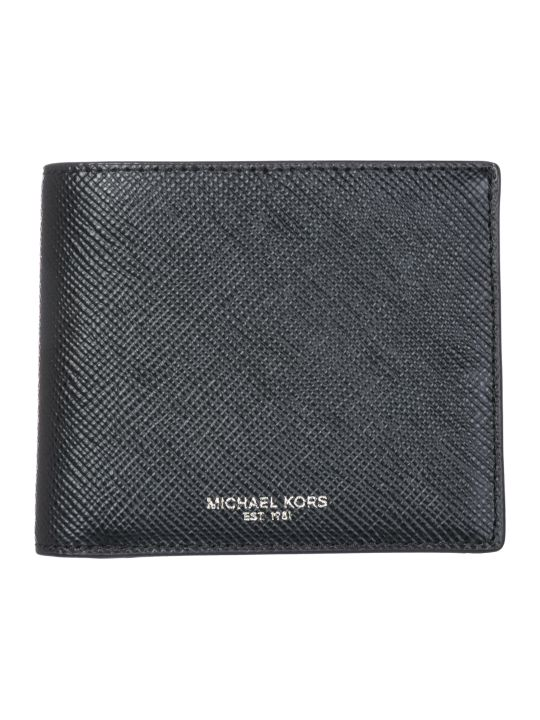 Michael Kors  Genuine Leather Wallet Credit Card Bifold Bifold Harrison