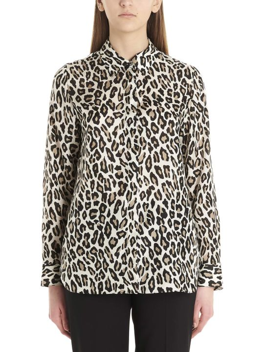 Theory 'leopard' Shirt