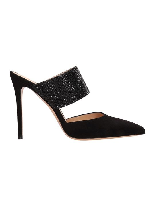 Lerre Black Suede Decollete