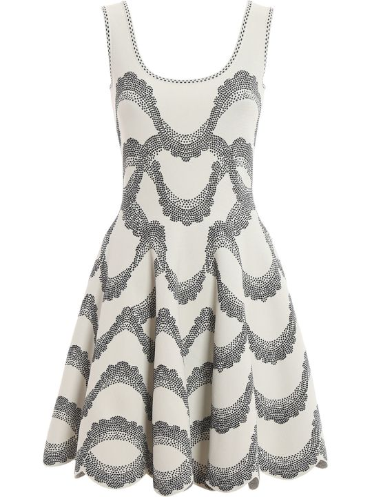 Alexander McQueen Embroidered Dress