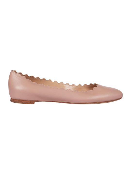 Chloé Scallop Ballerinas