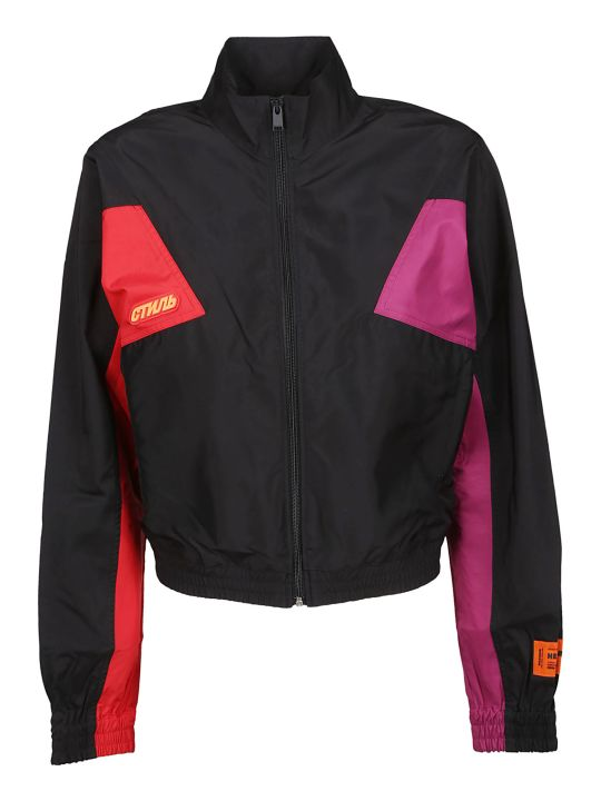 HERON PRESTON Color Block Bomber