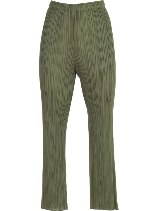 Pleats Please Issey Miyake Pants Straight