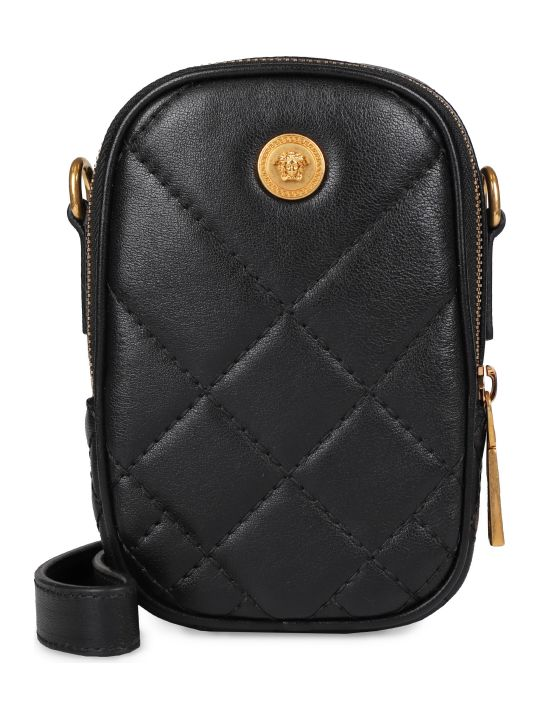 Versace Quilted Leather Mini-bag