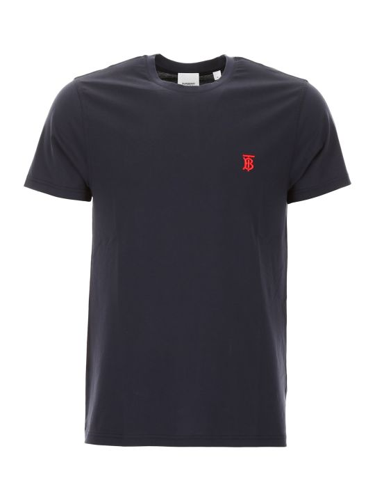 Burberry Parker T-shirt With Logo Embroidery