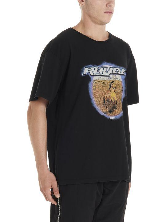 Rhude 'horse Portrait' T-shirt