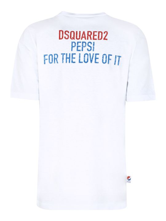 Dsquared2 Cotton T-shirt - Dsquared2 X Pepsi