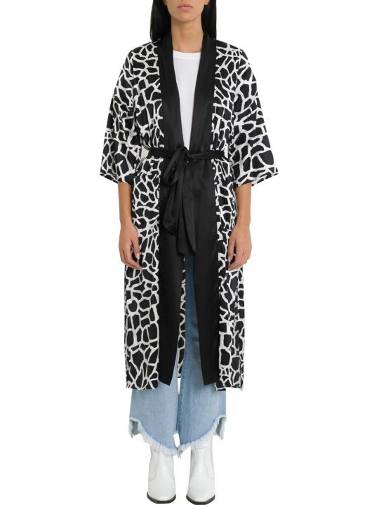 Federica Tosi Animalier Silk Tunic With Belt