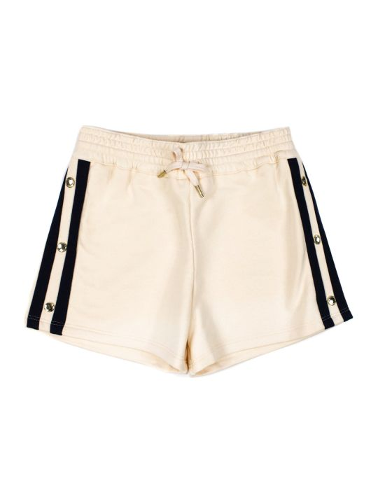 Chloé Rose Pink Cotton Blend Shorts