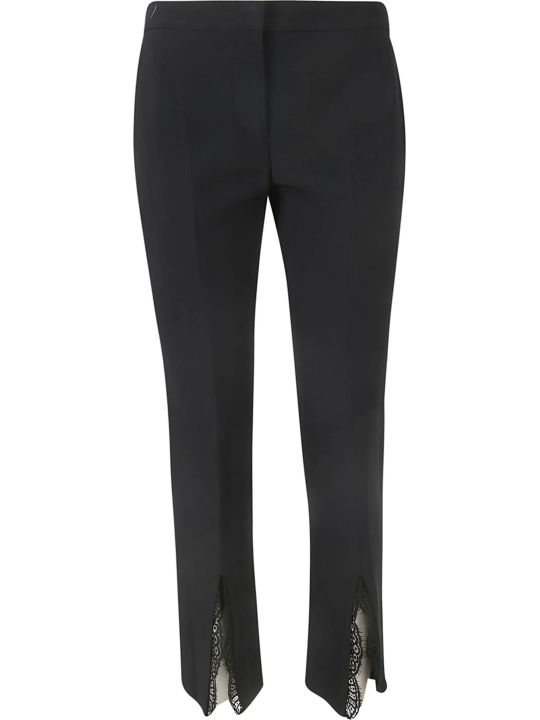 Alexander McQueen Lace Trim Trousers
