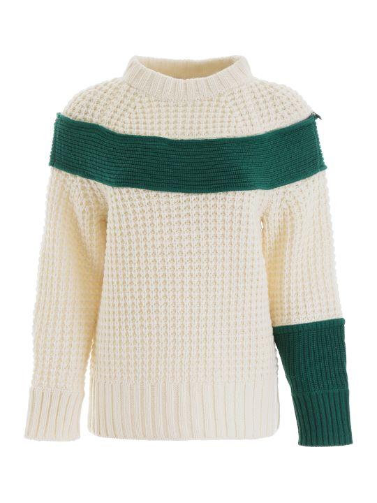 Sacai Zipped Pullover