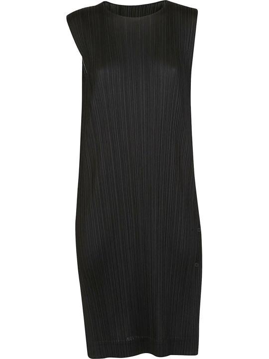 Issey Miyake Sleeveless Midi Dress