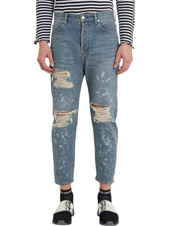 Balmain Destroy Jeans