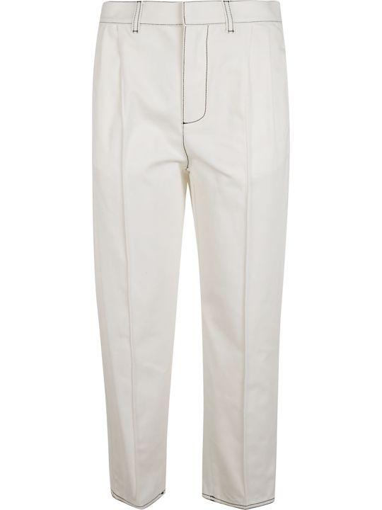 Alexander McQueen Straight Long Trousers