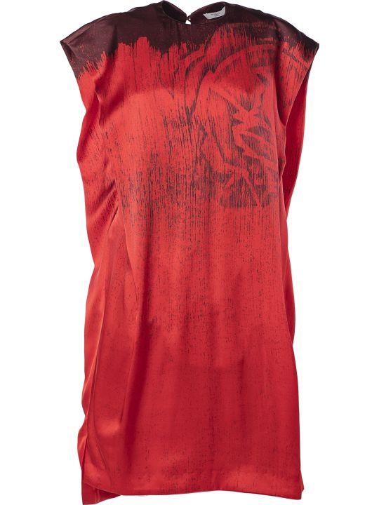 Poiret Print Detail Oversized Dress