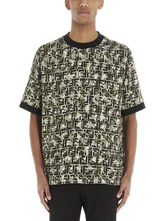 Fendi 'ff Camouflage' T-shirt