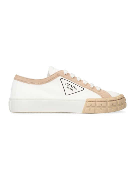 Prada Canvas Sneakers
