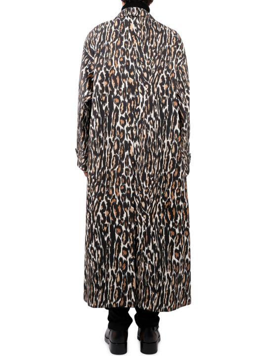 Raf Simons Leopard Carcoat