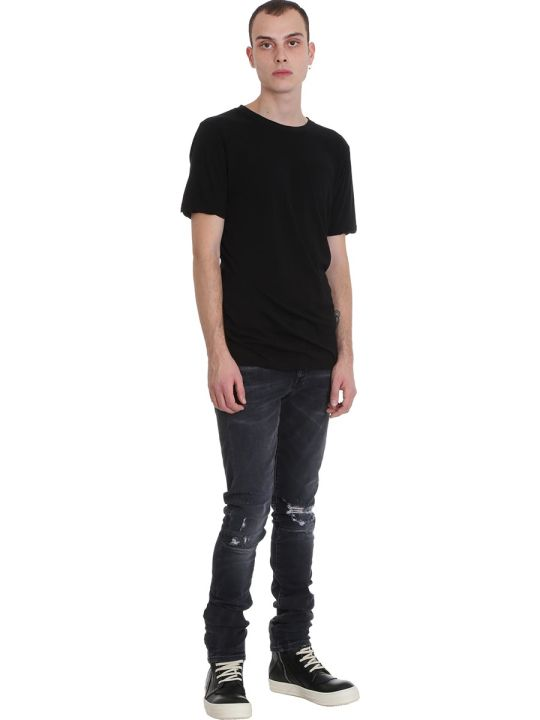 Ben Taverniti Unravel Project Jeans In Black Denim
