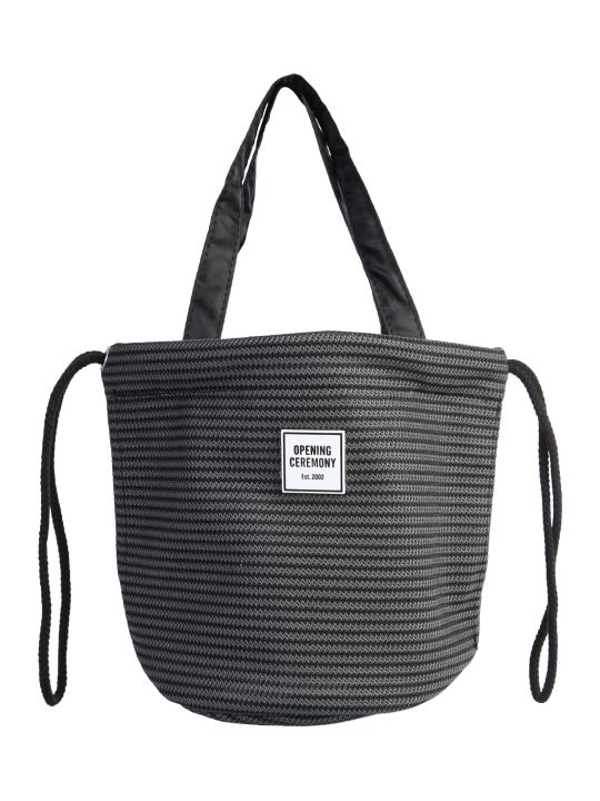 Opening Ceremony Circular Mesh Drawstring Bag