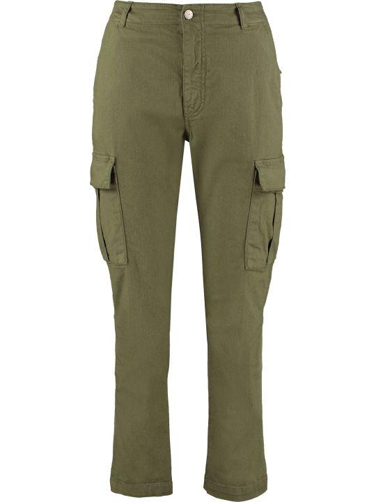 Parosh Cotton Cargo-trousers