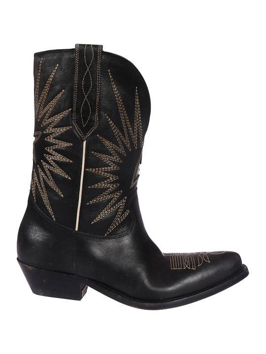Golden Goose Wish Star Low Boots