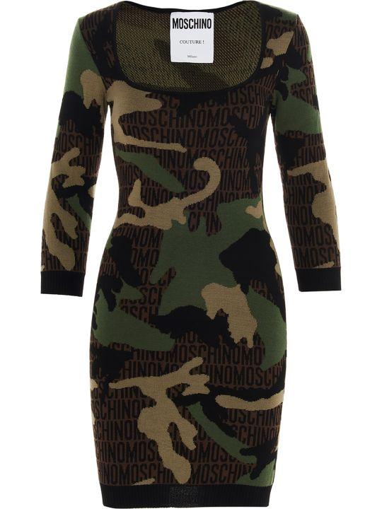 Moschino 'military Army' Dress