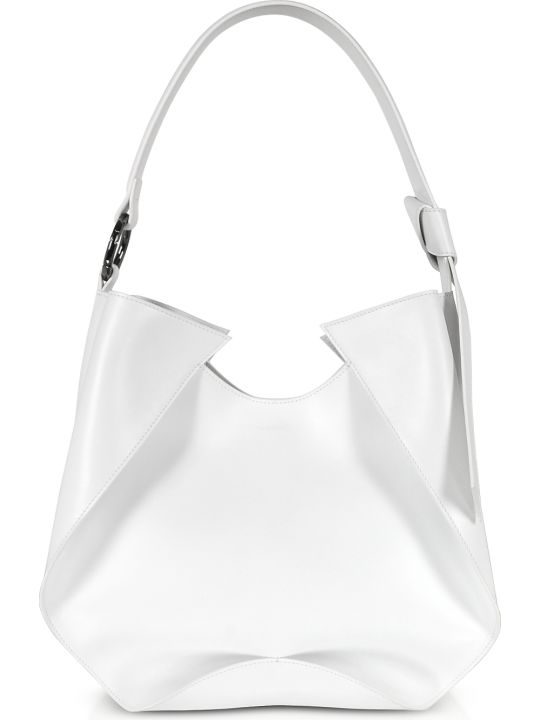 Giaquinto Giselle Leather Shoulder Bag