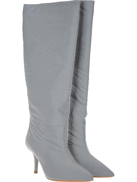 Yeezy Kanye West Yeezy Reflective Knee High Boots