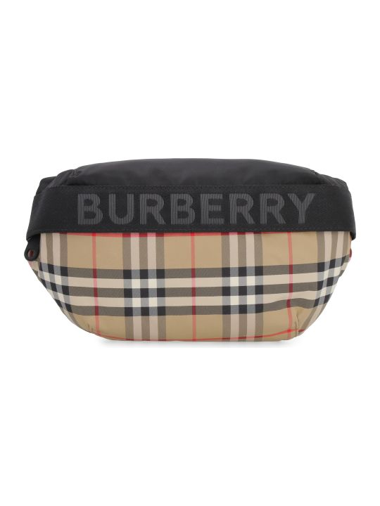 Burberry Printed Nylon Belt Bag