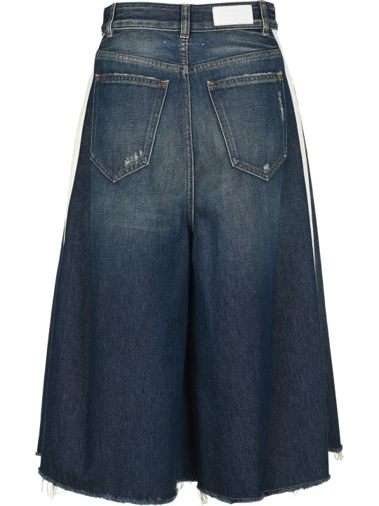 MM6 Maison Margiela Mm6 Flare Cropped Jeans
