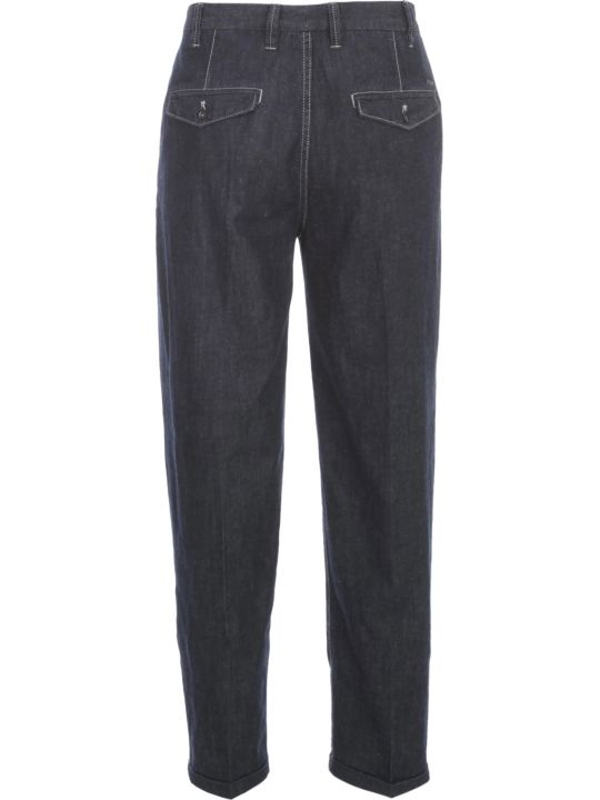 Emporio Armani Denim Pants Linen