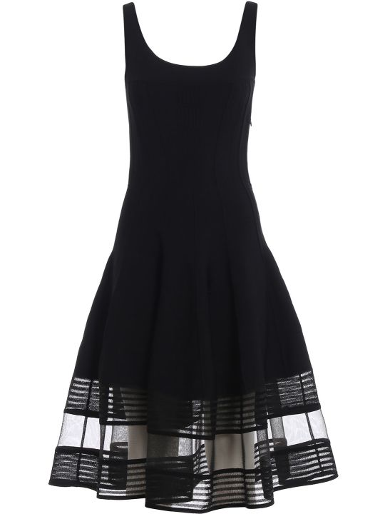 Alexander McQueen Flared Knitted Dress
