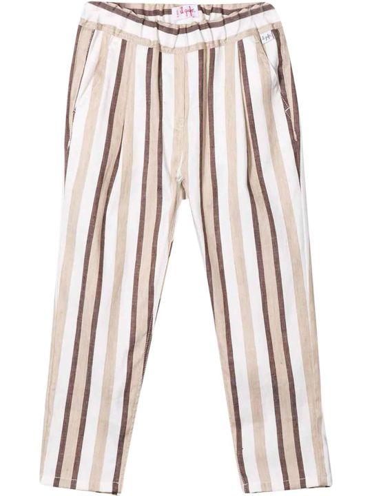 Il Gufo Striped Trousers Gufo Kids