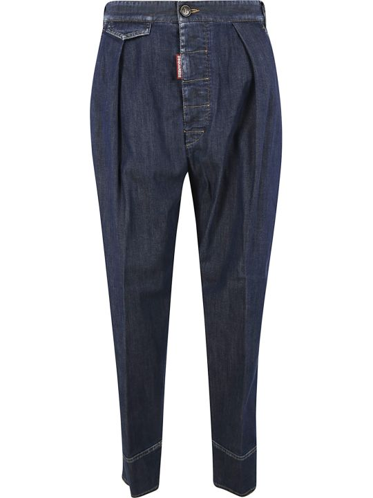 Dsquared2 Buttoned Denim Trousers